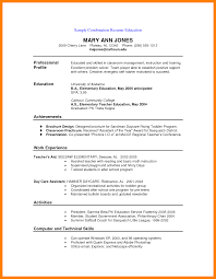 3 Hybrid Resume Example Emt Resume