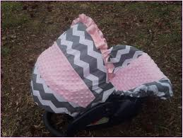 free minky car seat cover