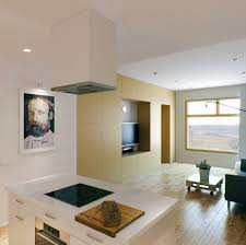 Modern Kitchen Living Room Tag For Small Modern Open Plan Living Room And Kitchen Nanilumi