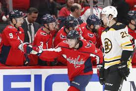 Recap Bruins Exchange Shots With Capitals Come Up Short In