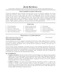 Software development manager resume to inspire you how to create a good  resume 6