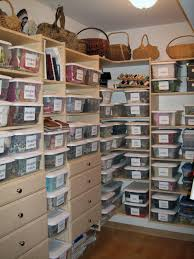 stylish craft closet organization ideas brings eye catching look