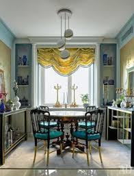 chivari chairs in a glamorous kitchenette