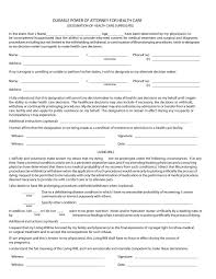 Letter For Power Of Attorney 50 Free Power Of Attorney Forms Templates Durable