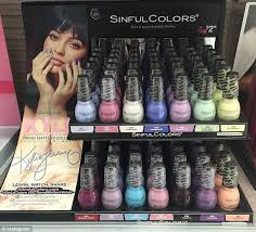 sneak k even though kylie s new nail polishes don t technically launch until april