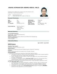 How To Write A Resume For A Job Awesome Resume In Applying A Job How To Write A Resume For A Job Resume