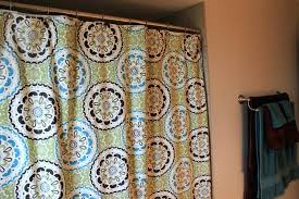 target threshold curtains blue captivating new mid century decoration with amusing threshold yellow medallion shower curtains target under silver iron
