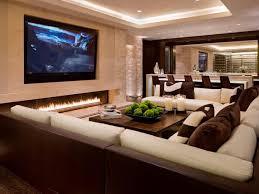 Chic Media Room >> http://www.hgtvremodels.com/interiors