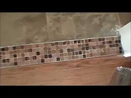 how to create a beautiful tile transition strip