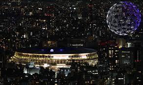 شاهد) 1800 طائرة بدون طيار في حفل افتتاح أولمبياد طوكيو 2020