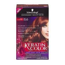 Schwarzkopf Keratin Color Anti Age Hair Color Cream 5 6