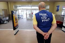 Walmart Customer Service Number Welcome Back Wal Mart Greeters Wsj