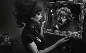 looking in mirror. Perfect Mirror 17851scaryreflectioninthemirror1280x800digital To Looking In Mirror