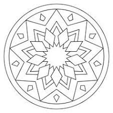 Simple Mandala Coloring Sheets Easy Mandala Coloring Pages Printabl