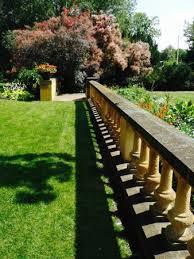 paine art center and gardens front yard ballister