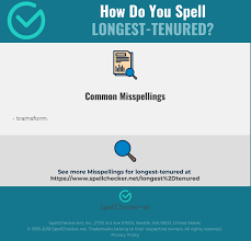 See phonetic symbol for a list of the ipa symbols used to represent the phonemes of the english language. Correct Spelling For Longest Tenured Infographic Spellchecker Net