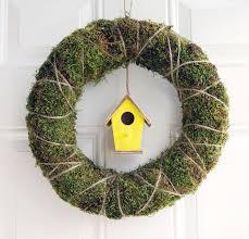 DIY Birdhouse Wreath