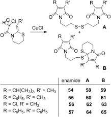 Cucl-Catalyzed Radical Cyclisation Of N-Α-Perchloroacyl-Ketene-N,s ...