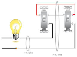 2 lights 1 switch wiring diagram How To Wire Two Switches To One Light one light two switches wiring diagram how to wire two switches to one light diagram