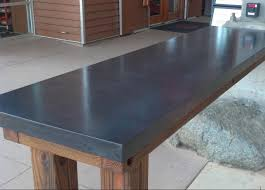 duravel concrete counter top created for usnwc in charlotte nc this is the waiver table as you enter the facility double charcoal is the color