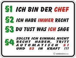 Rahmenlos Blechschild Mit Witzigem Chef Spruch Otto