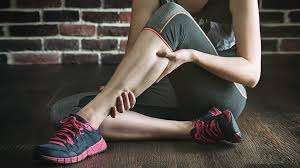 what causes leg crs and how can you