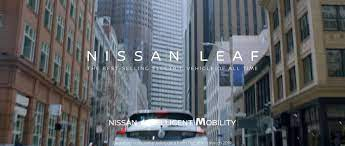new nissan leaf ad caign delivers