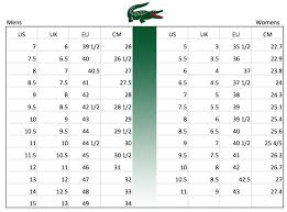 Lacoste Polo Womens Size Chart 35 Rare Lacoste Shoe Size Guide