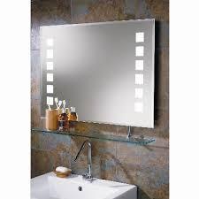 bathroom vanity mirrors hib volta back lit mirror a dramatic landscape bevelled edged mirror with back