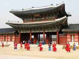 韓国の景福宮