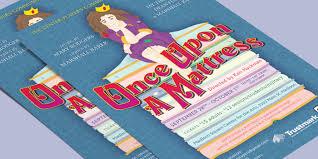 once upon a mattress broadway poster. A Poster Design For The Musical Once Upon Mattress. Mattress Broadway 2
