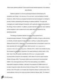 psyc psychology of addiction thinkswap psychology of addiction major essay
