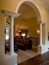 arch design for living room