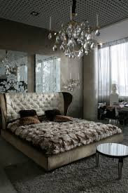 most romantic bedrooms in the world. Venetian Plaster Walls Look Like Stone, Mirrors With Etched Scroll Patterns, Crystal Chandelier And Most Romantic Bedrooms In The World F