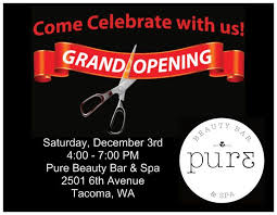 bar grand opening flyer grand opening flyers vista print purebeautybar253 pure beauty bar