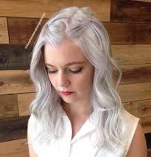 Hairstyle Perfect Medium Length Thin Hair In Silver Hairstyles For