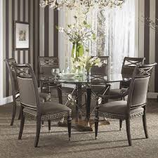 Kiera Traditional Pieces Dining Table Gallery Including  Piece - Formal round dining room sets