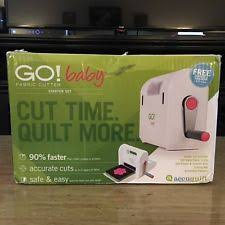 Accuquilt Go Cutter: Quilting Tools & Equipment | eBay & Baby Fabric Cutter Starter Set Comes with 2 Dies Quilt Adamdwight.com