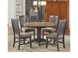 Aamerica Port Townsend 5 Pc Table Chair Set Round Table 4
