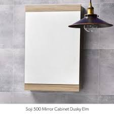 lighting bathroom mirror. Soji Mirror Cabinet - 500mm Lighting Bathroom .