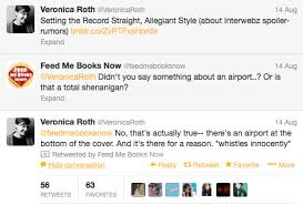 veronica roth allegiant what do you think the airport on the cover