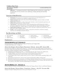 Resume Objectives for Management Positions Image for 14 Sample Resume for  Retail Manager