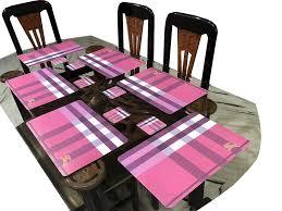 Designer Dining Table Mats Buy Lavichitra 6 Pc Long Lasting Designer Dining Table
