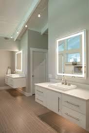 custom bathroom lighting. Dual Vanities In Master Bathroom Custom Lighting S