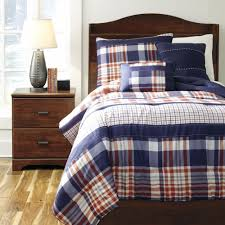 milam plaid twin comforter