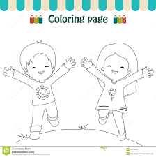 Small Picture Happy Girl Coloring Pages Coloring Pages