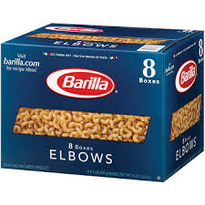 barilla elbows pk lb bj s whole club