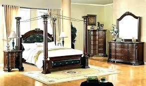 Mirrored Canopy Bed Amazing Queen Velvet Mir – nightowlstudio
