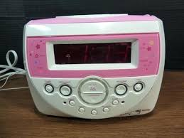 clock radio with cd player hello kitty player dual alarm clock am radio kt am fm