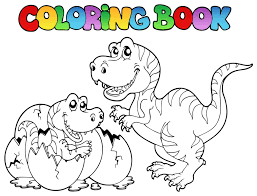 Coloriage Gratuit Dino Shop